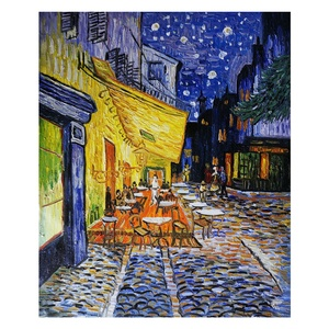 Custom Wall Art Shenzhen Dafen Impression Famous Van Gogh Reproduction Handmade Painting