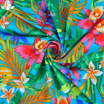 70108060d Personalizado de Nylon Lycra Spandex tela estampado Floral para trajes de baño  traje de baño
