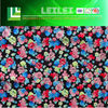 Flowers Printed Super Poly Fabric