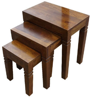 Sensational Wooden Stool Set Of 3 St0002 Buy Stool Set Of 3 Garden Stool Set Sheesham Stool Set Product On Alibaba Com Unemploymentrelief Wooden Chair Designs For Living Room Unemploymentrelieforg
