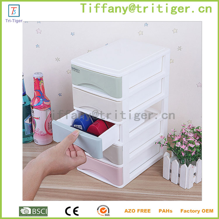 Mesh Desk Organizer Box with Drawer Tower desktop storage organizer