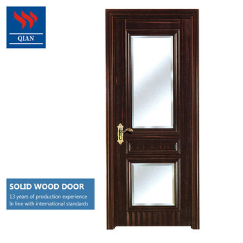 Exceptionnel Fancy Solid Core Hardwood Interior Bathroom Doors With Frosted Glass Inserts