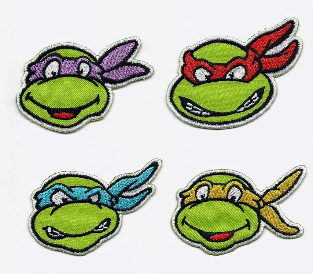 Buy Teenage Mutant Ninja Turtles 4 Pack Faces Leonardo Raphael