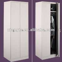 Modern style bedroom furniture, modern 2 doors metal cupboard storage /wardrobe furniture