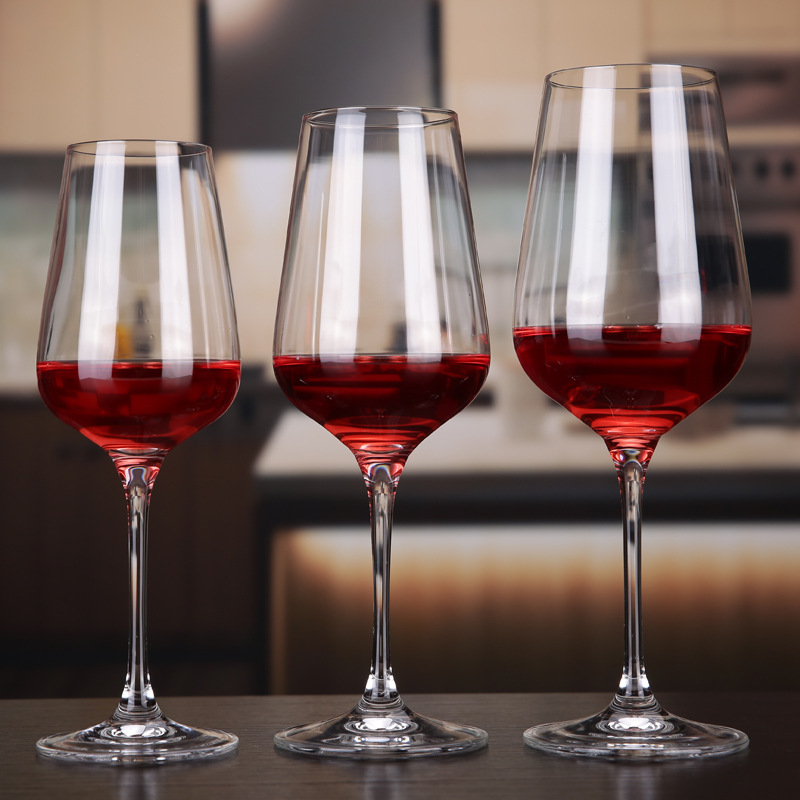 W02 Wholesale Crystal Wine Glass,Crystal Bohemia Wine Glass,Bulk Crystal Wine Glasses