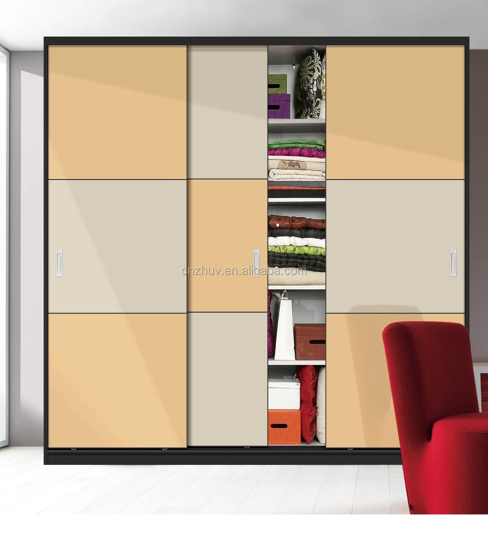Dormitorio puerta corredera armario mecanismo con diseño de ...