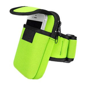 Custom neoprene sport phone pouch armband by Chinese supplier