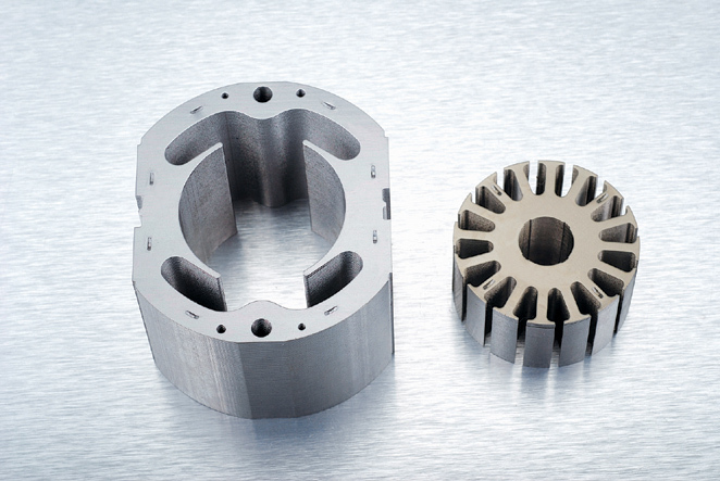 Sheet stacks weld for stator and rotor stamping die mould for Rotor stator hydraulic motor