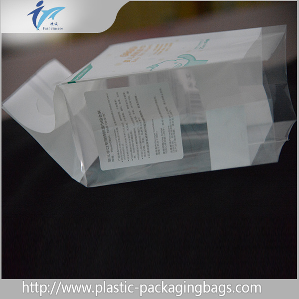 OEM/ODM Custom Logo plastic packaging baby wet wipe tissue paper bag/fabric tissue bag