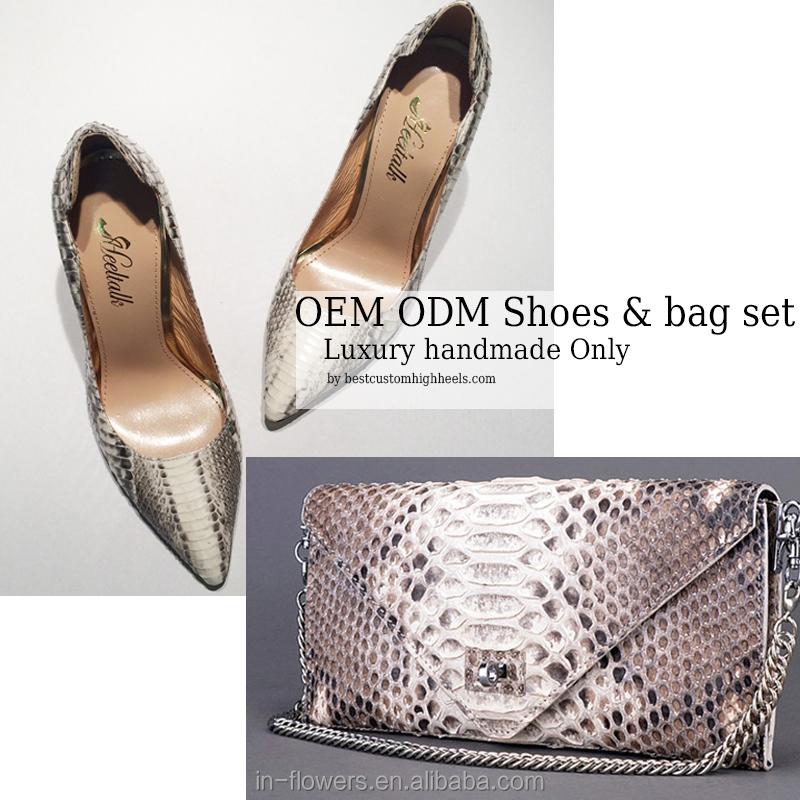 bag shoe heels set women set women High italian matching and quality top handmade and shoes and bag luxury quality handbags qHpwaRU
