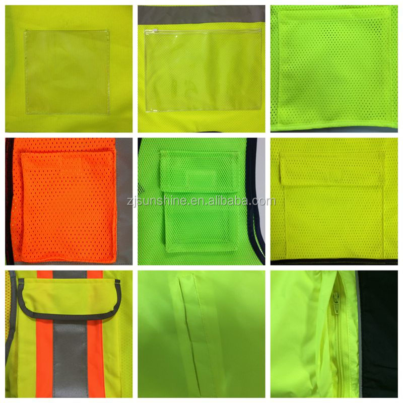 CE High Quality Mesh Safety Reflective running vest