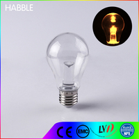 OEM high quality 12w heat resistant bulb clear dimmable led bulb