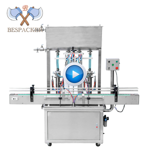 High Precise Piston Pneumatic Liquid filling machine for oil,perfume,mineral water,juice,soy milk (100-1000ml)