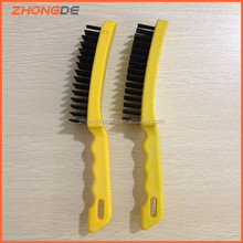 industrial wire brush with plastic handle