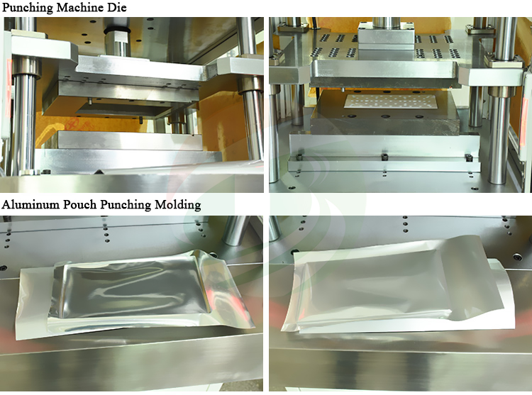 Manual Aluminum Punching Machine for  Lithium ion Battery Production Line