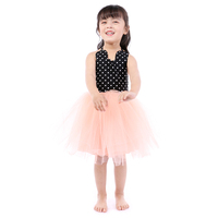 New Baby Infant Kids Fashion Tulle Princess Sleeveless Dress Little Girls Cute Tutu Dresses