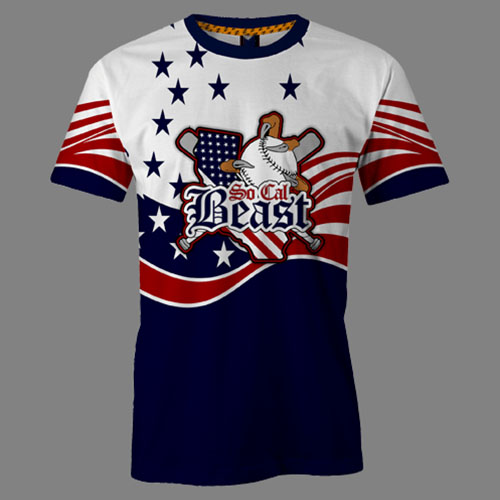 Custom design 100% polyester cool full dye sublimated softball jersey uniform