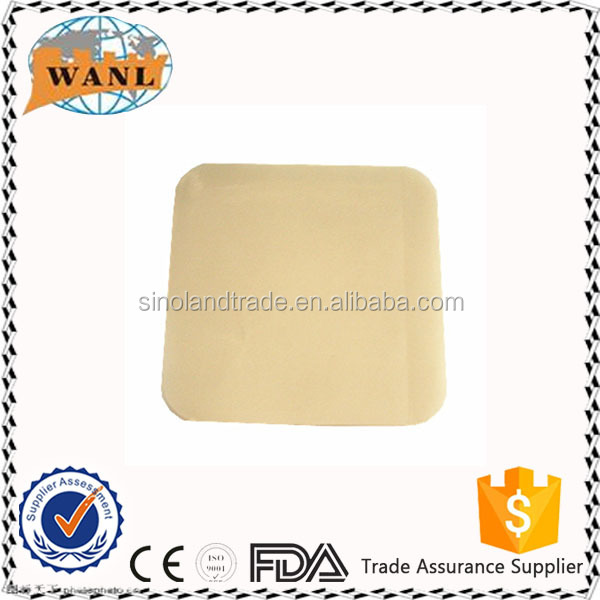 CE ISO approved disposable medical foam dressing wound care