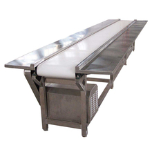 PVC white food grade flat used conveyor belt for machine