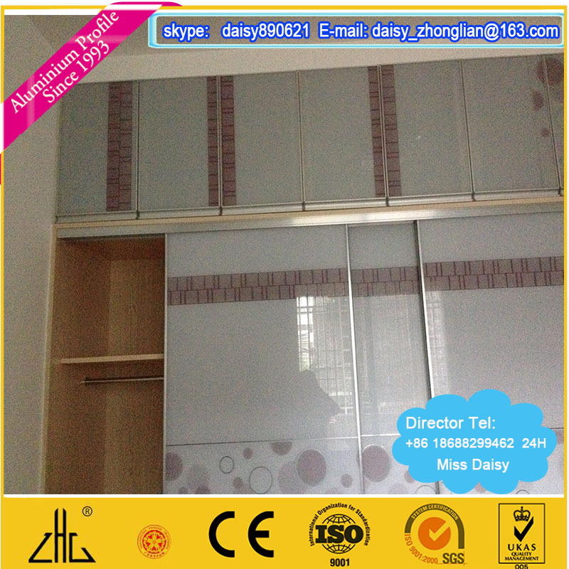 How To Make Built In Wardrobes With Sliding Doors: Armario De Aluminio Perfil De La Puerta Corredera,Puertas