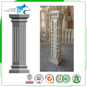 Building Decorative Component Cement Column Fiberglass Mould Making