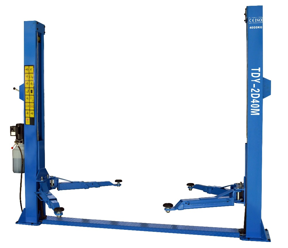 Hydraulic Car Lift For Service Station Ce 2 Post Car Lift Tongda Tdy-2d40m on