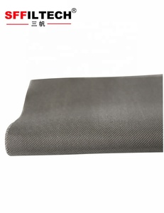 6um ptfe coated fiberglass fabric/cloth concrete Manufacturer filter cloth specification