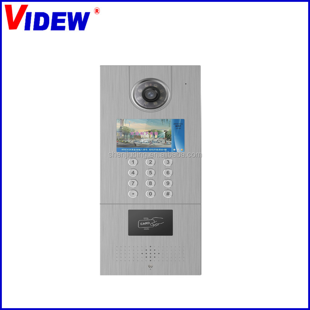 Digital Analog Multi Apartment Video Intercom Door Phone System ...