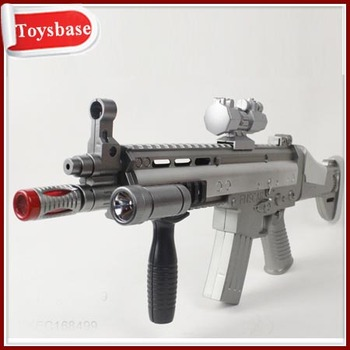 Laser sound gun toy