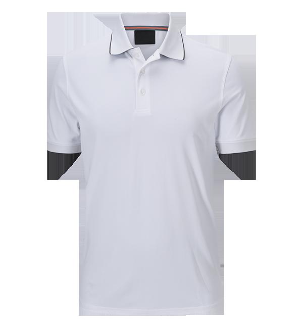 High Quality White 100% Polyester Plain Sport Polo T Shirt ...