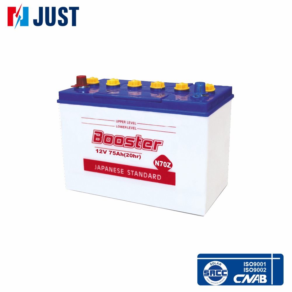 auto auto bettery batteria n70 70ah 12v giappone standard