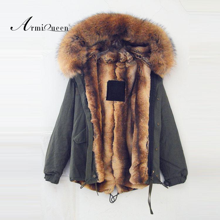 Wholesale The Wholesale winter Women raccoon fur lining short