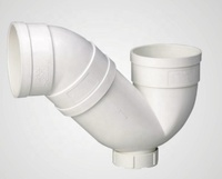 Manufacturer supply pvc drainage pipe fittings trap with check port