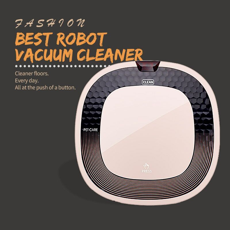 Smart Vacuum Cleaning and mopping Robot/IR Remote Control Vacuum Robot Cleaner one key to start