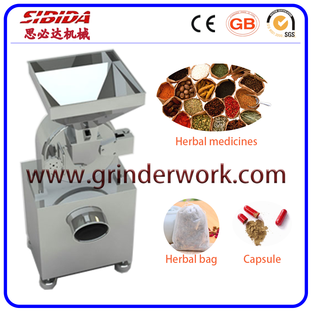 Herbs/Leave Grinding Machine