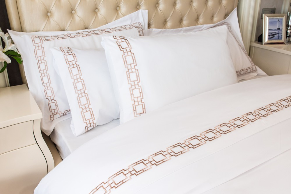 Peach Skin Embroidery Design Bed Sheet Pictures Buy Bed