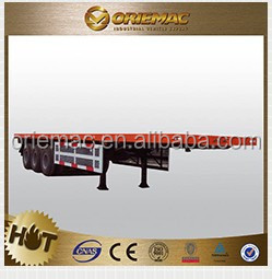 4axle Super reinforced Low Bed/Lowboy Semi Truck Trailer For Sale (customized), trailer dimensions and truck prices