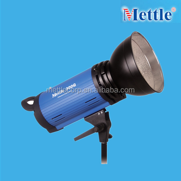 short recycle time Digital photography studio flash light 300Q