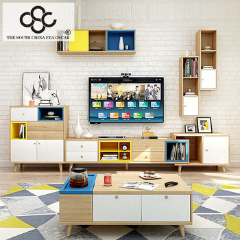 Living Room Furniture Modern Tv Cabinet home designs modern living room partition tv stand customized size