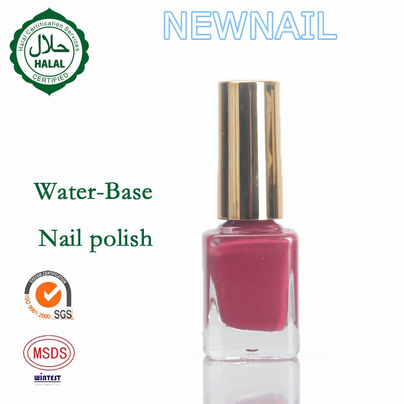 Eco-friendly Water Base Halal Nail Polish Use Your Own Pravite ...