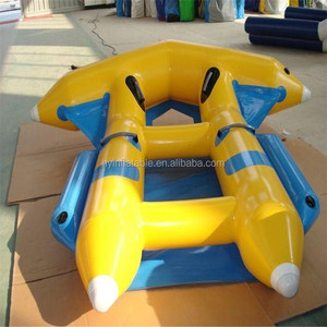 Lake fun portable inflatable jet ski,inflatable jet boat with factory price