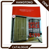 Chinese manufacturer cheap price furniture art paper catalog
