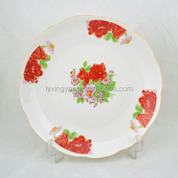 Ly Fp Decoration Food Fruit Tray Dish Plate Ceramic Fruit Plate
