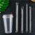 Disposable Transparent Plastic Jumbo Boba Straws for Cold Drink