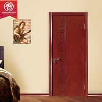 HDF/MDF moulded veneer door skin by ash/teak/sapeli/oak