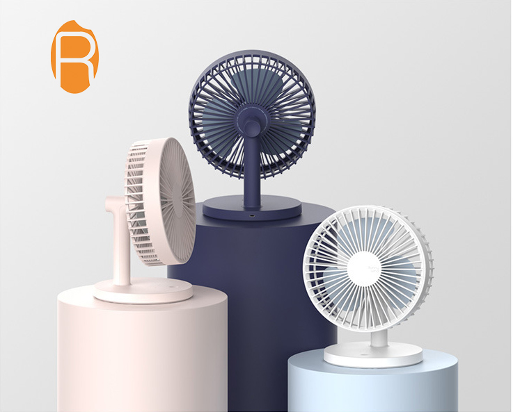 Promotion Office Mute Desktop <strong>Fan</strong> portable Rechargeable Desk <strong>Fan</strong>