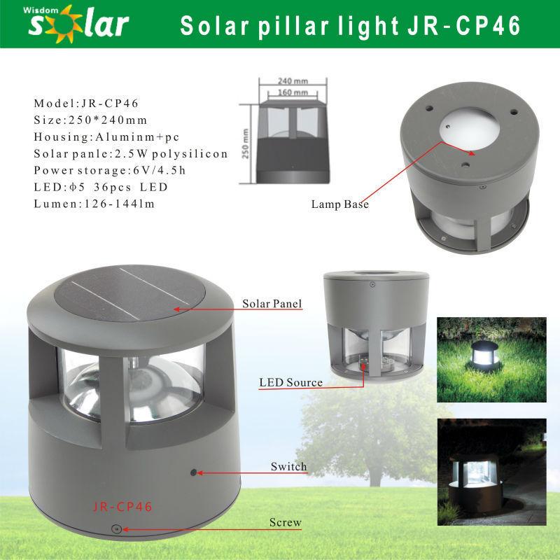 Superb Solar Outdoor Beacon Light Powered Led Lighting Power