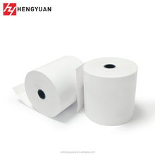 80x80 Blank Thermal Paper Roll,ATM Roll Paper Of Banks,Bond Wood Free Cash Receipt ATM POS Paper Roll