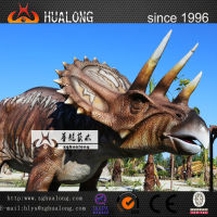 Amusement Park Decoration Life Size Electronic Amusement Equipment Dinosaur and Infrared Control Walking Dinosaur