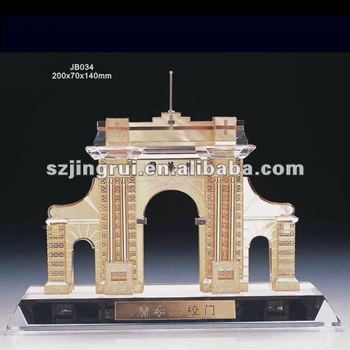 Famous Chinese Style Beautiful Design Crystal Architecture Model ...